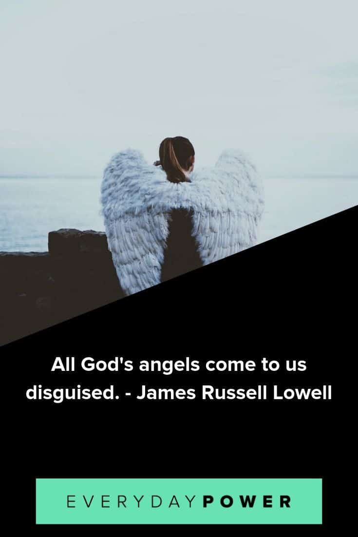 Angel quotes that will open your mind and heart