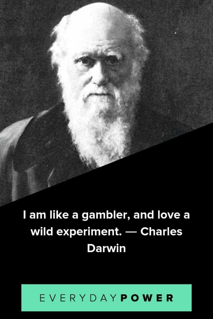Charles Darwin quotes that will change the way you think