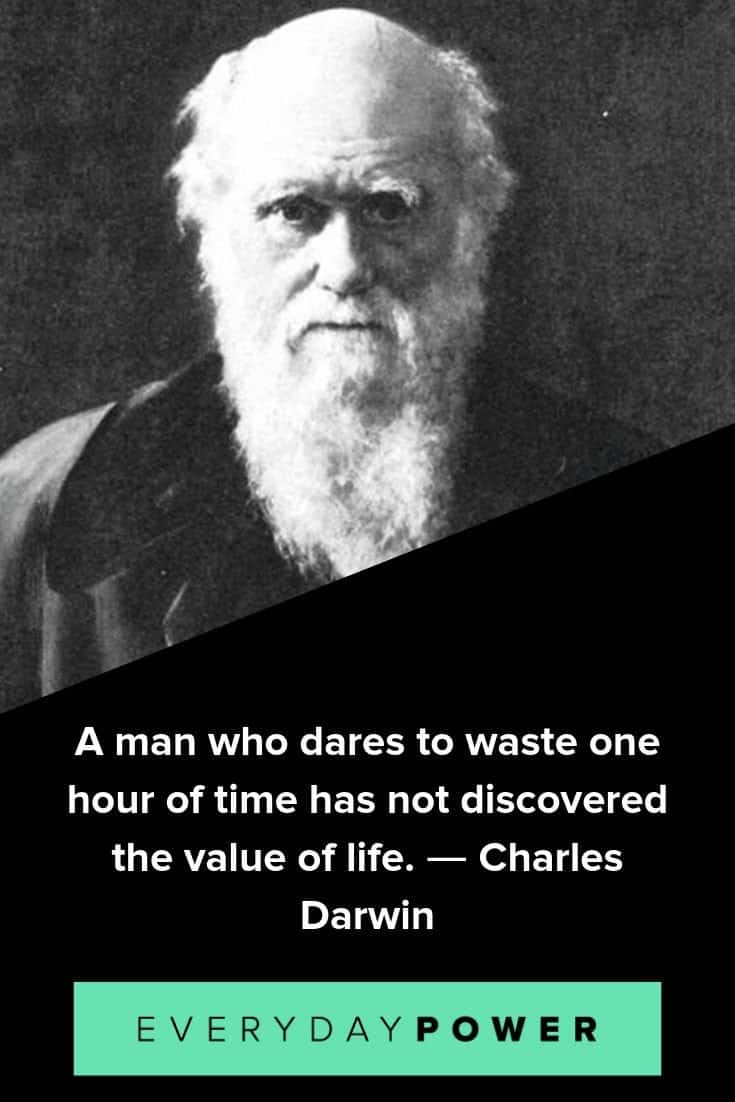 Charles Darwin quotes to inspire you