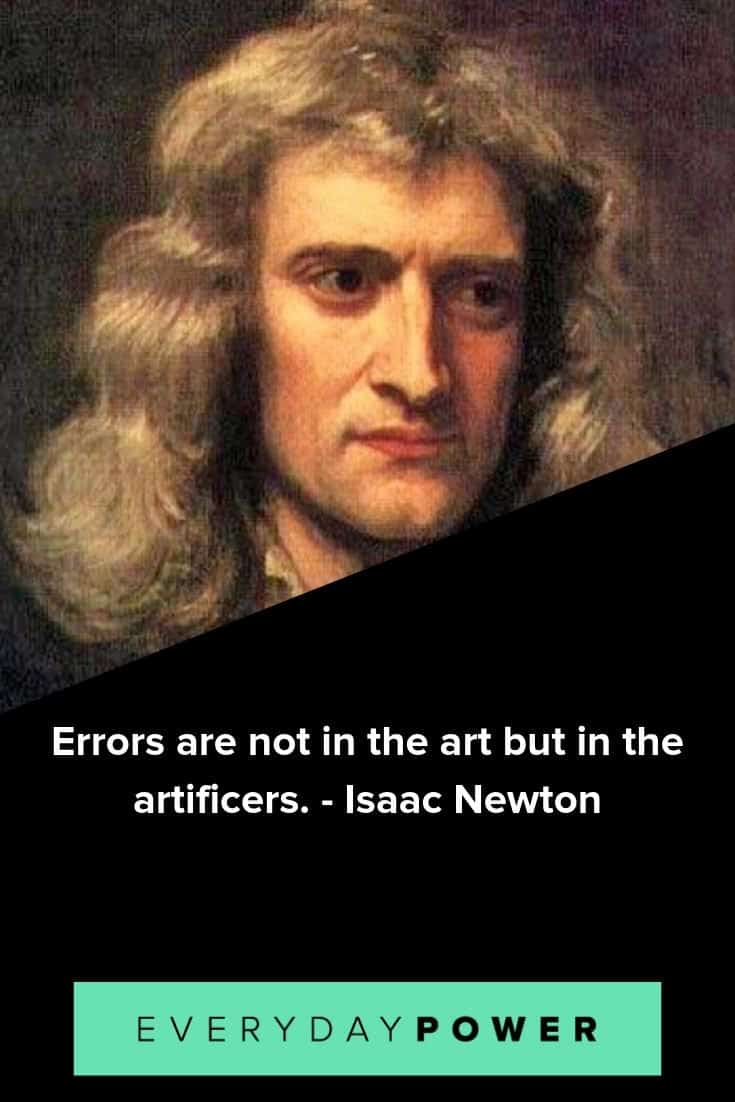 Isaac Newton quotes to inspire and motivate you