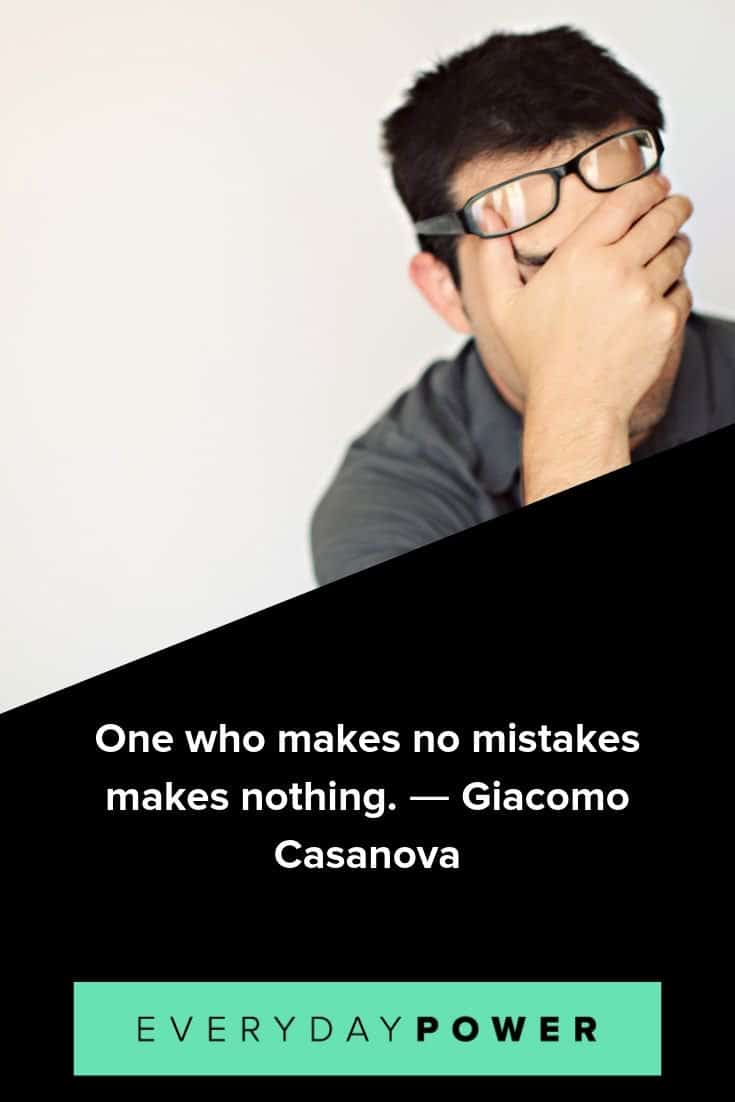 mistake quotes to inspire and teach