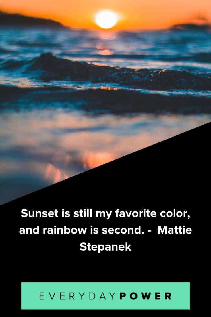 sunset quotes to inspire and motivate you