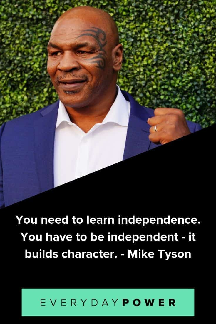 Mike Tyson quotes to inspire and motivate you on your journey to success