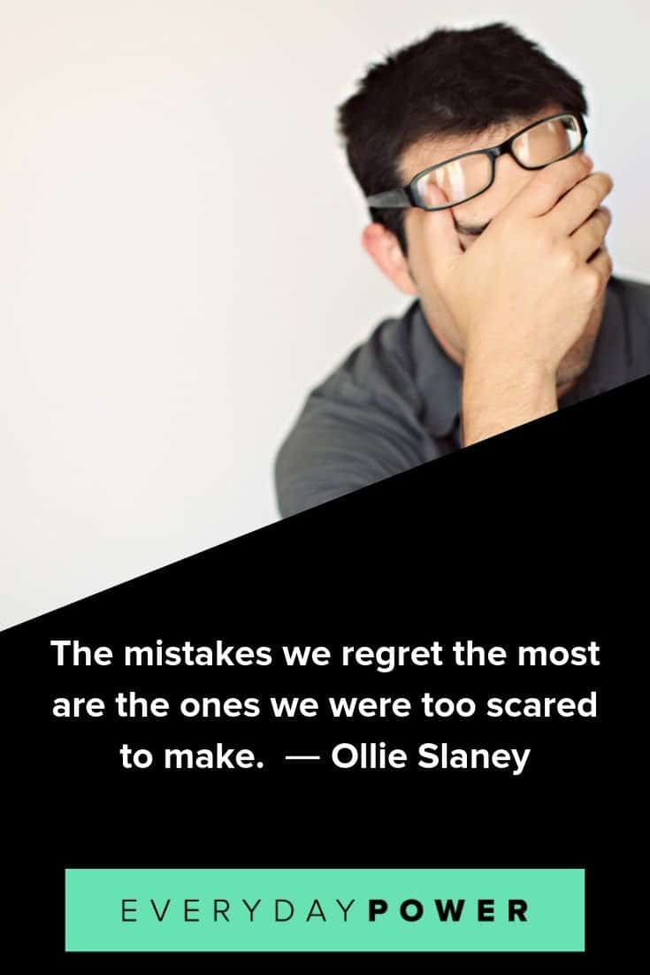 Mistake quotes that will inspire you to make good decisions for your goals and dreams