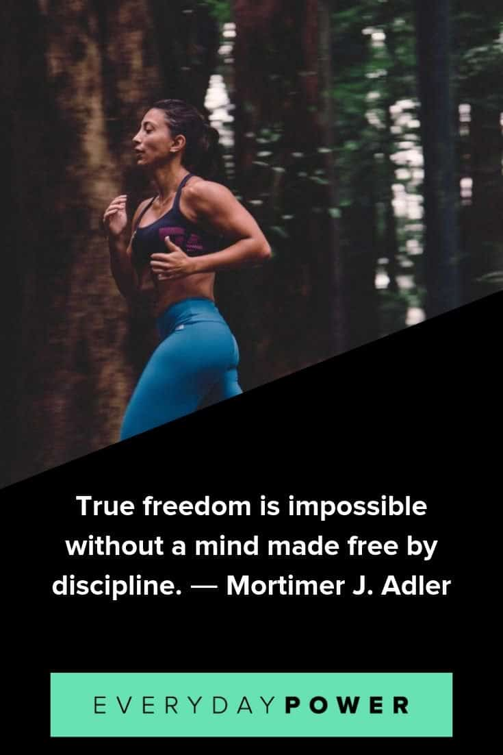 discipline quotes to help you gain the willpower to live a happier life