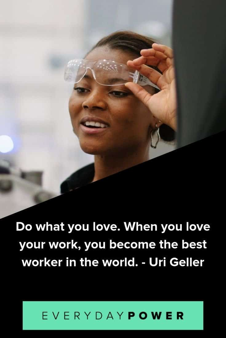 Inspirational quotes for work celebrating your career