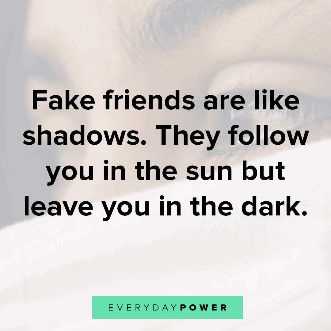 Fake Friends Quotes about darkness