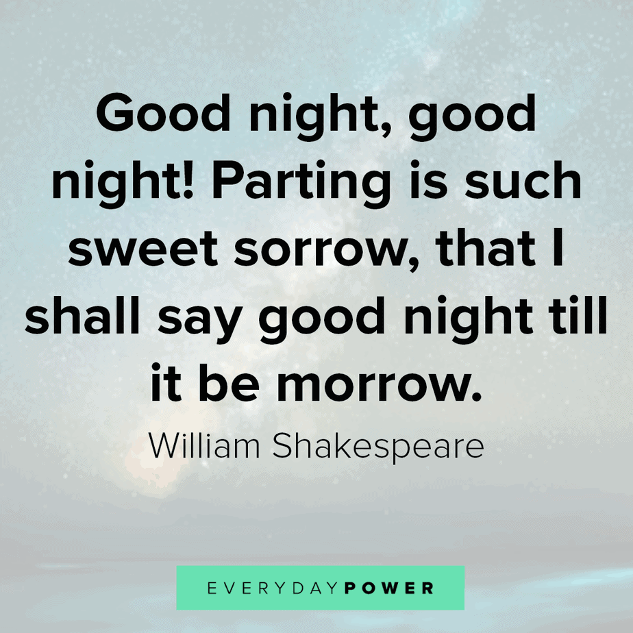 Goodnight Quotes to inspire