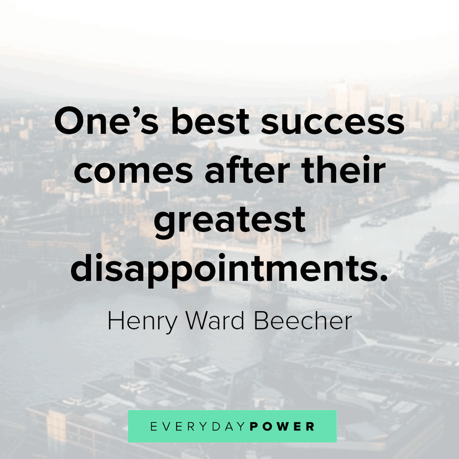 Disappointment Quotes to inspire success