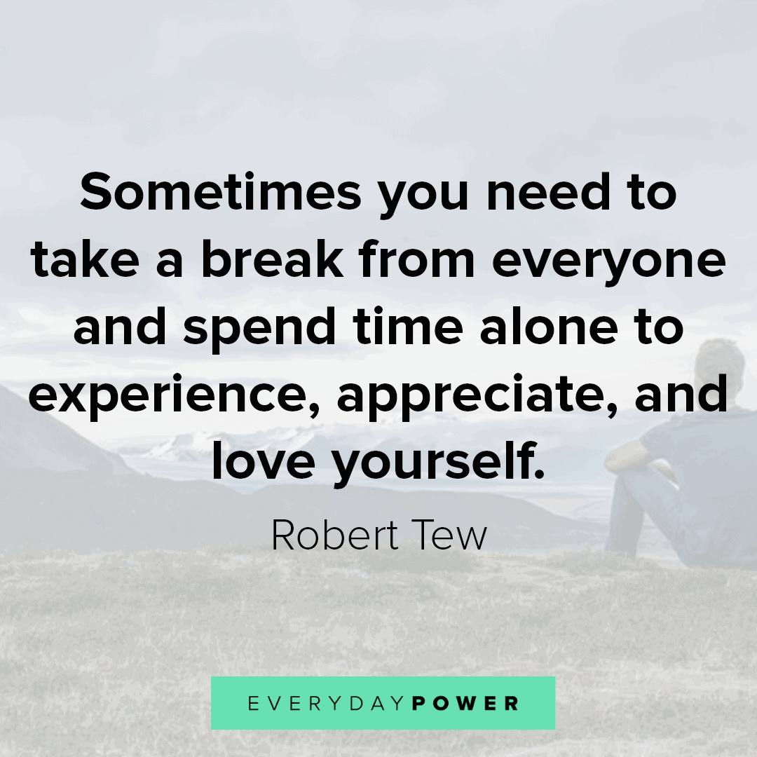 lonely quotes on loving yourself