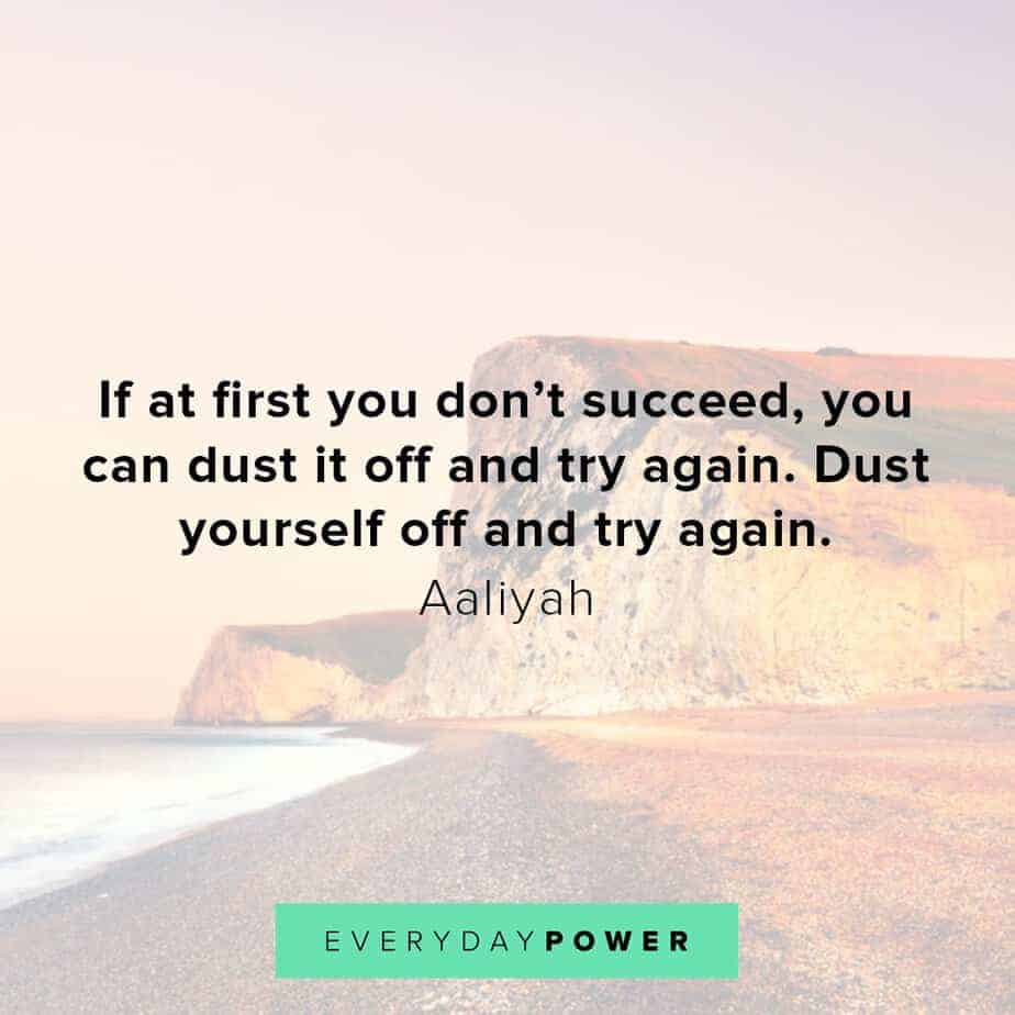 Aaliyah Quotes to uplift you