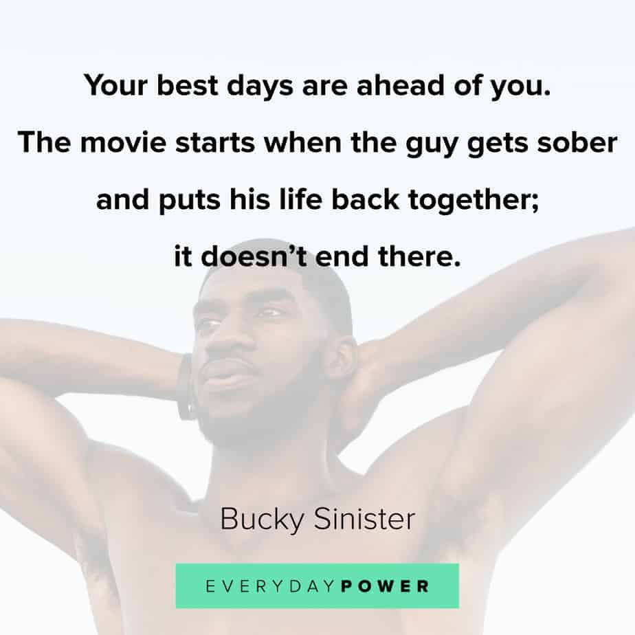 Addiction Quotes on putting your life together
