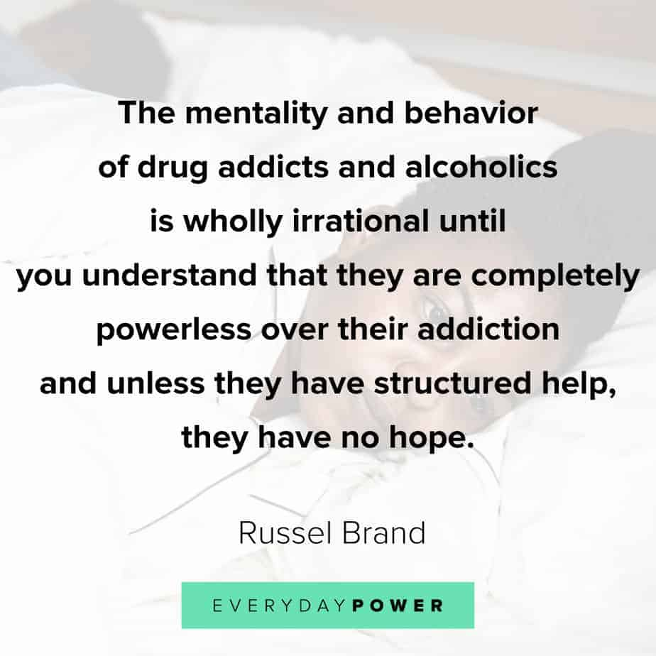 Addiction Quotes about mentality