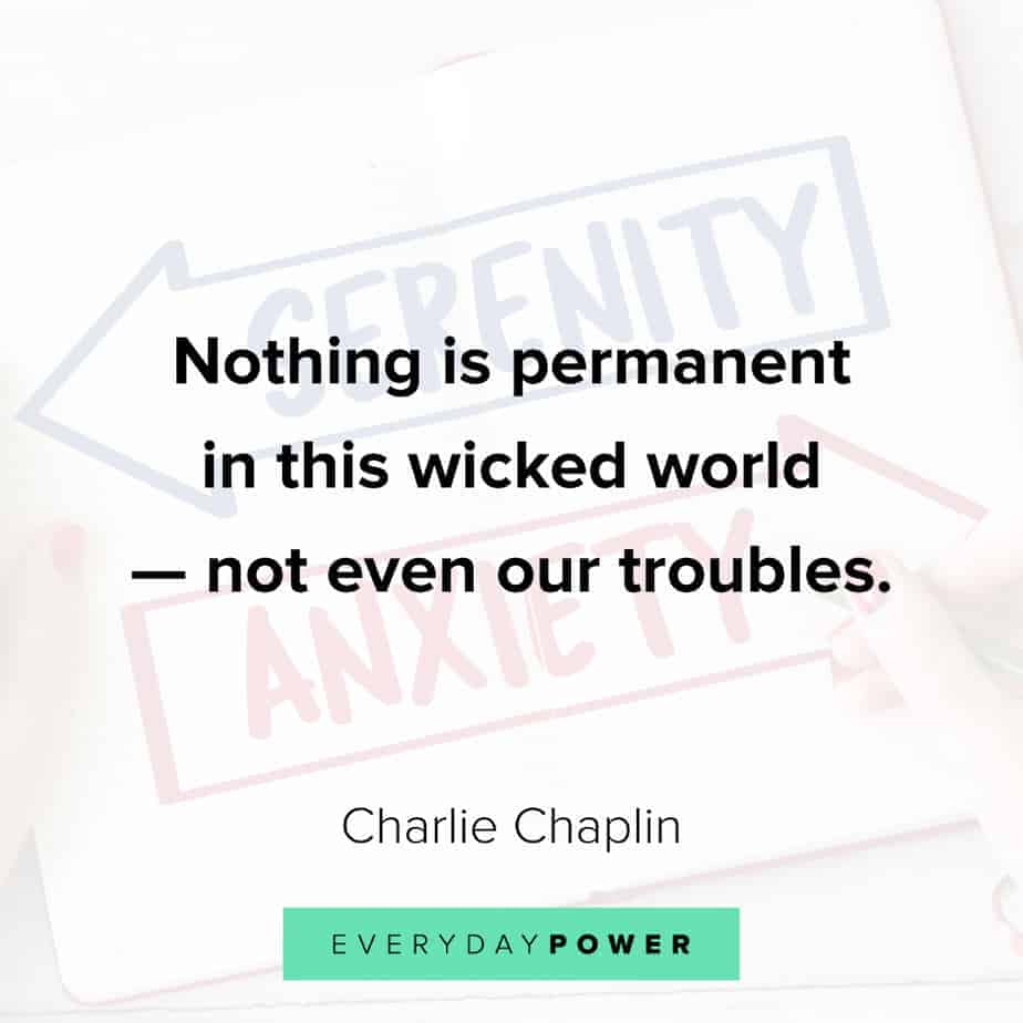 Anxiety Quotes about troubles