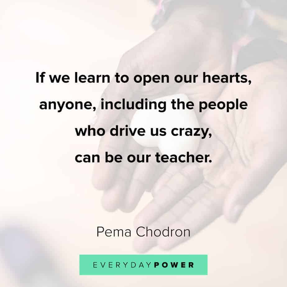 Anxiety Quotes on opening our hearts