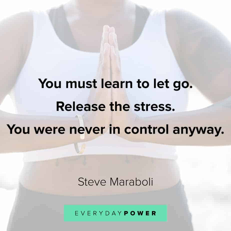 Anxiety Quotes to release stress