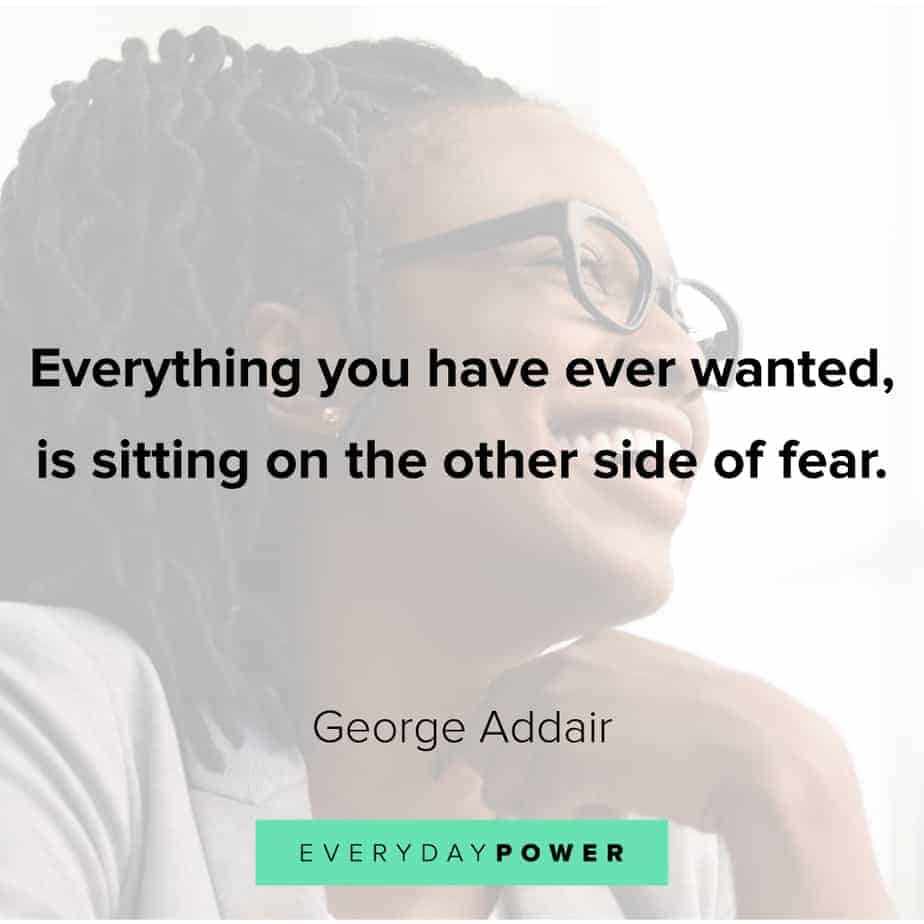 Anxiety Quotes about fear