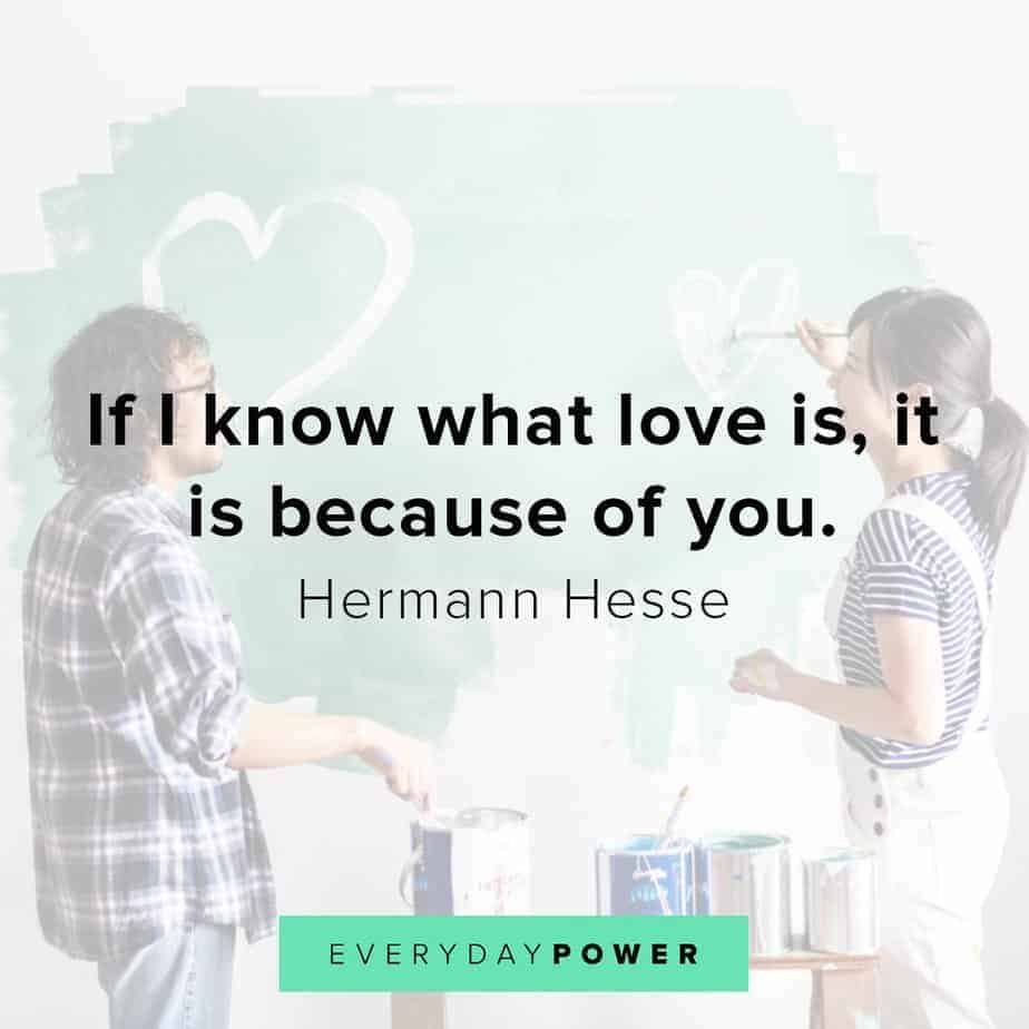 love quotes for your husband about knowing what love is