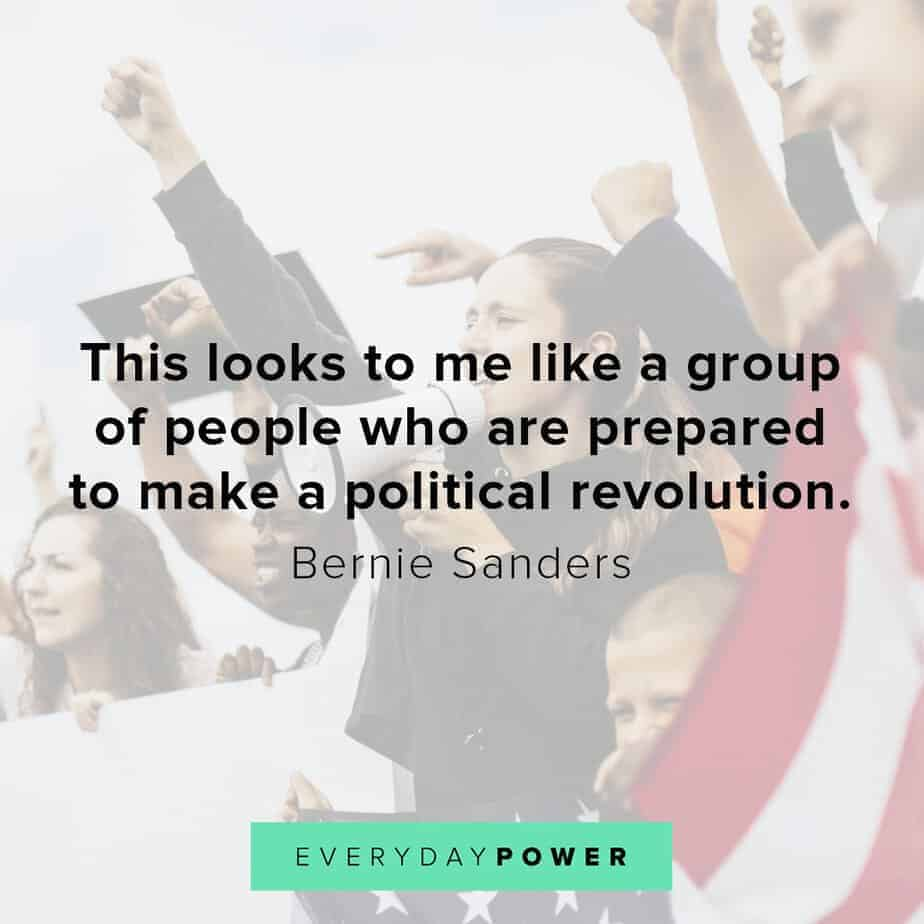 Bernie Sanders quotes on life