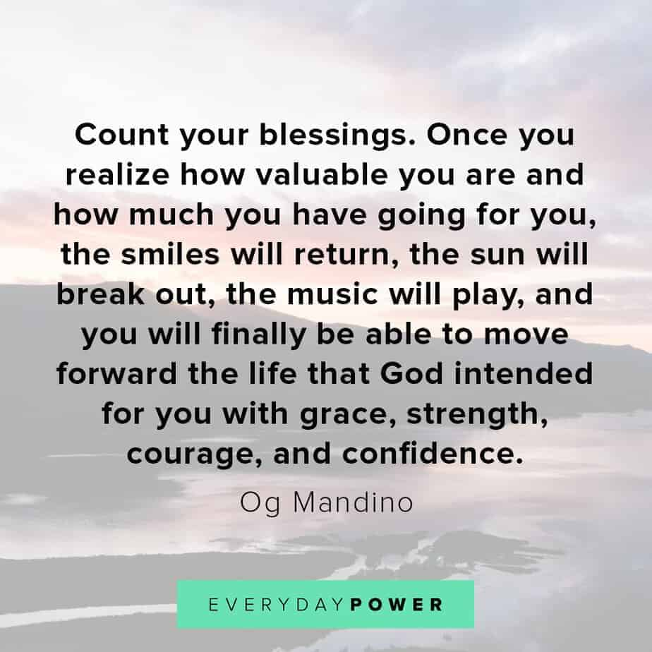 Blessed quotes that will give you strength