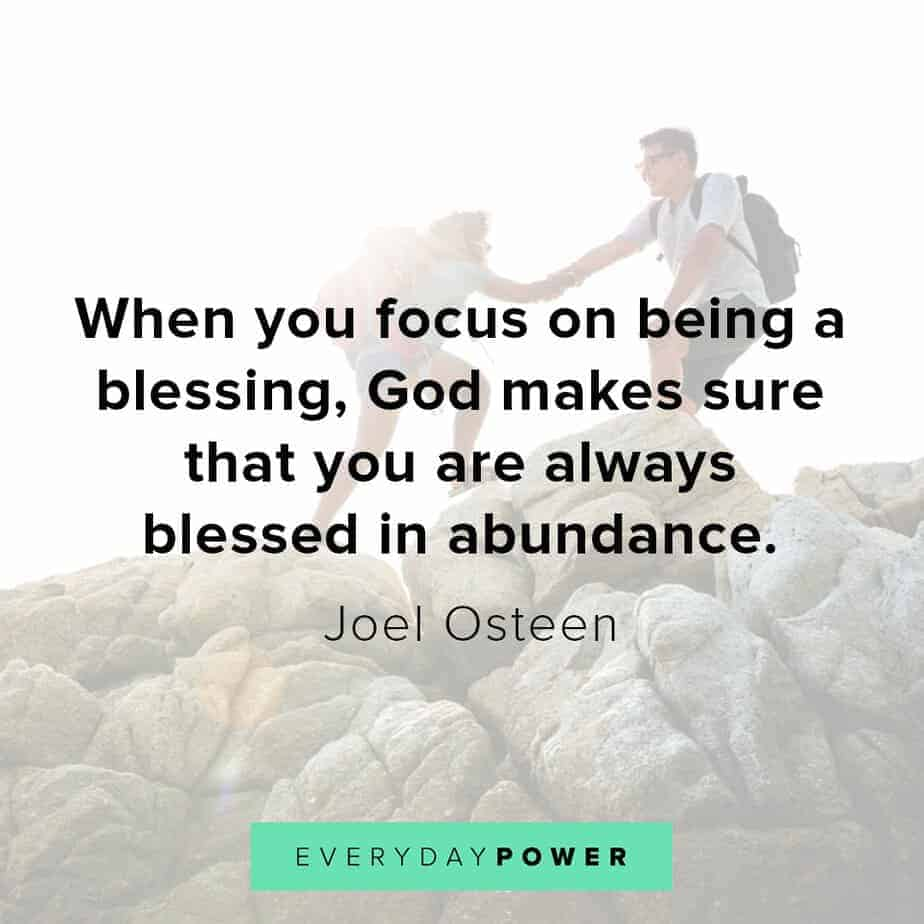 Blessed quotes about abundance