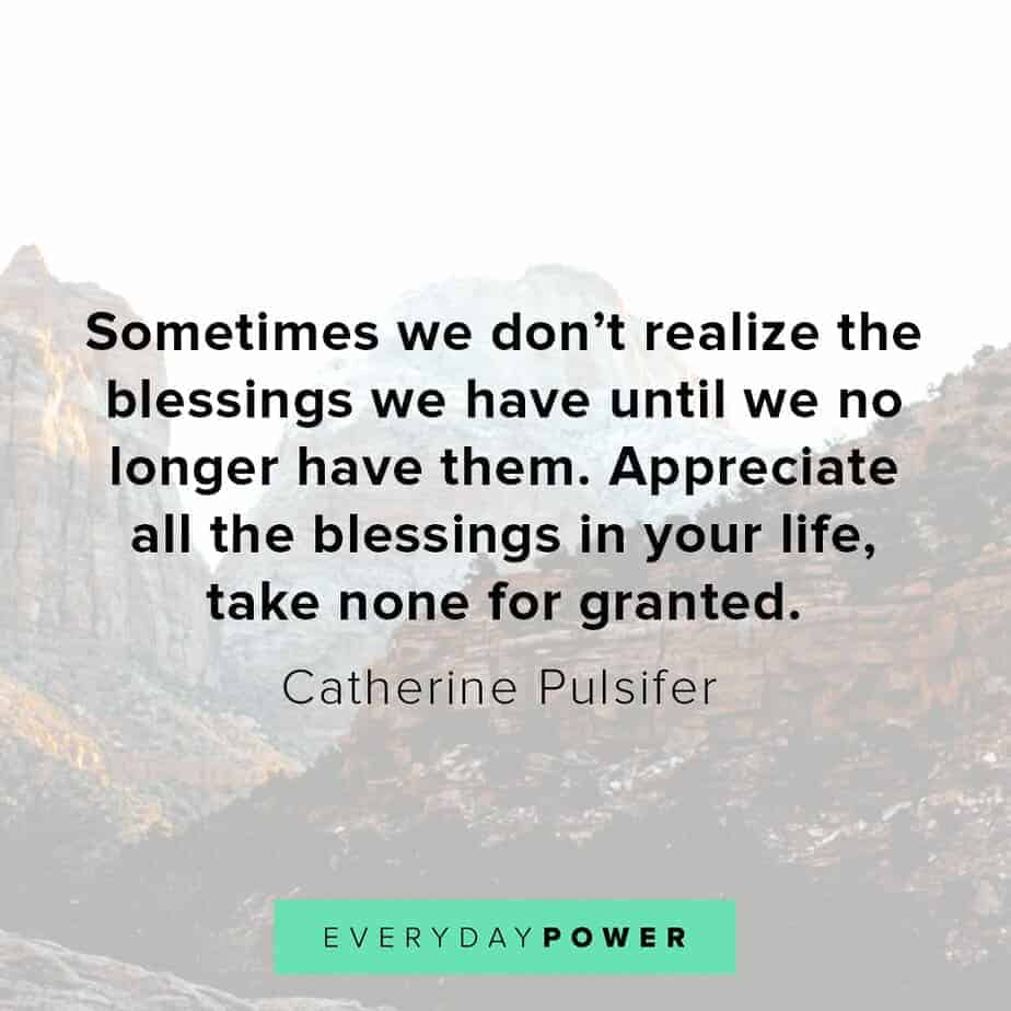 Blessed quotes about appreciation