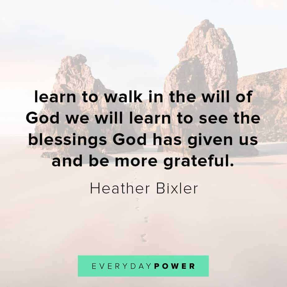 Blessed quotes to make you grateful