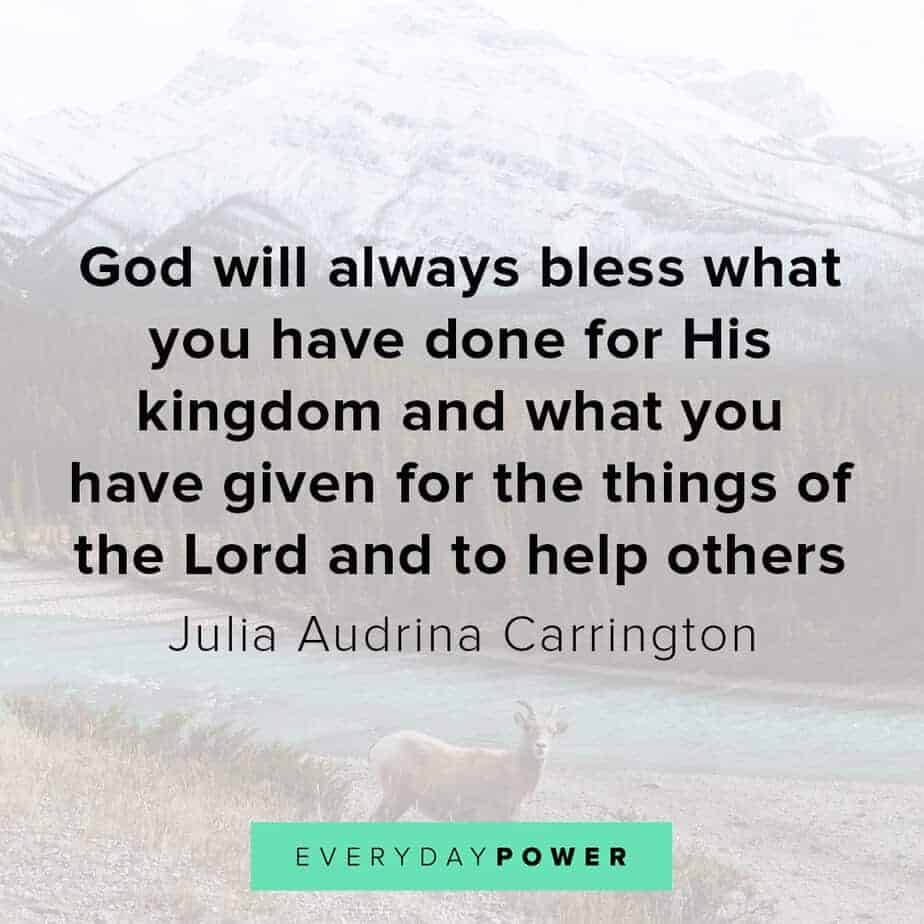 Blessed quotes about helping others