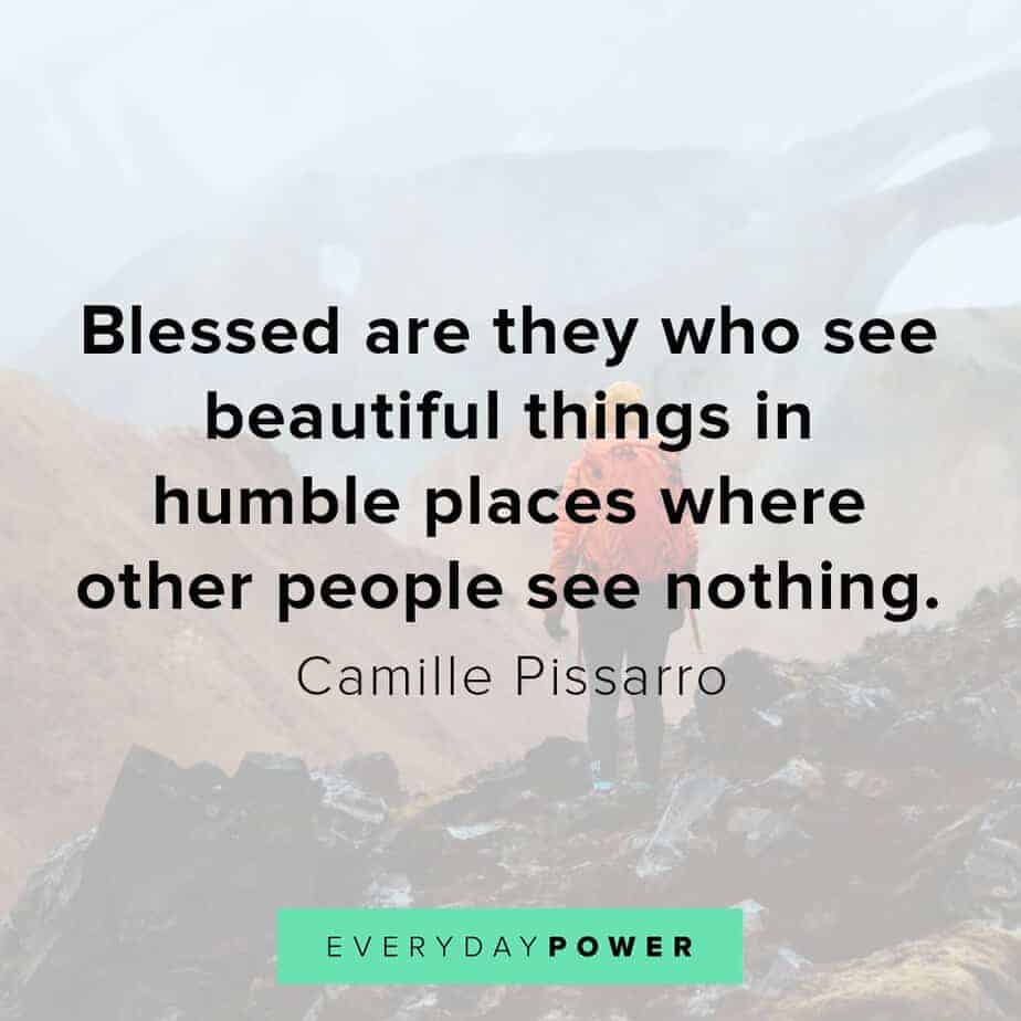 Blessed quotes on being humble