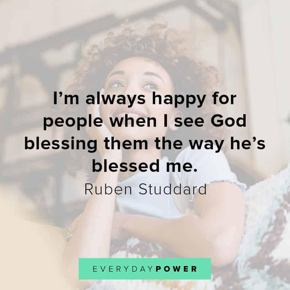 Blessed quotes celebrating God blessing