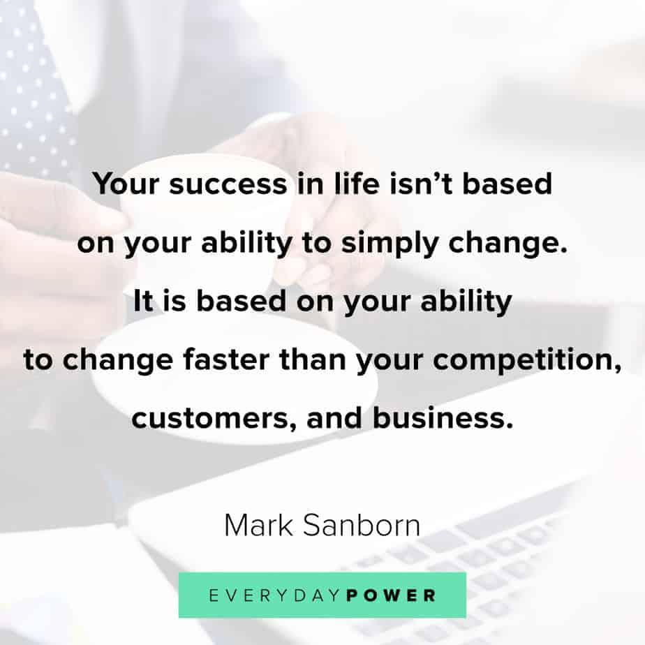 Change Quotes about success