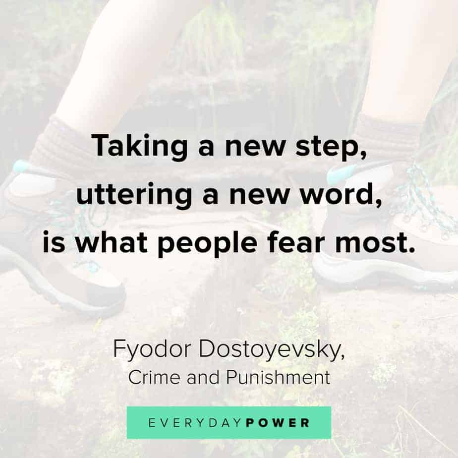 Change Quotes about taking steps