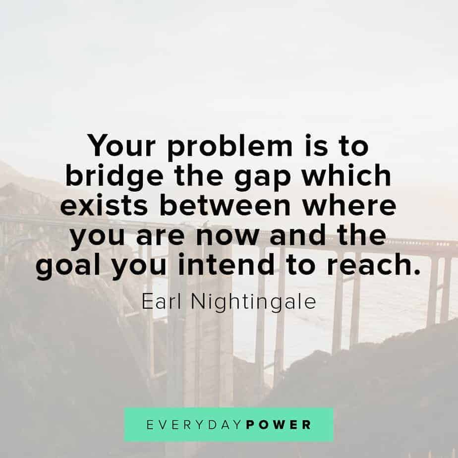 Earl Nightingale Quotes on reaching goals