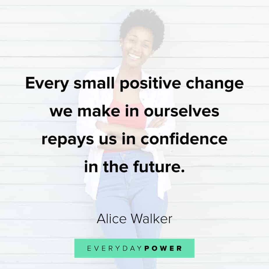 Encouraging quotes about positive change