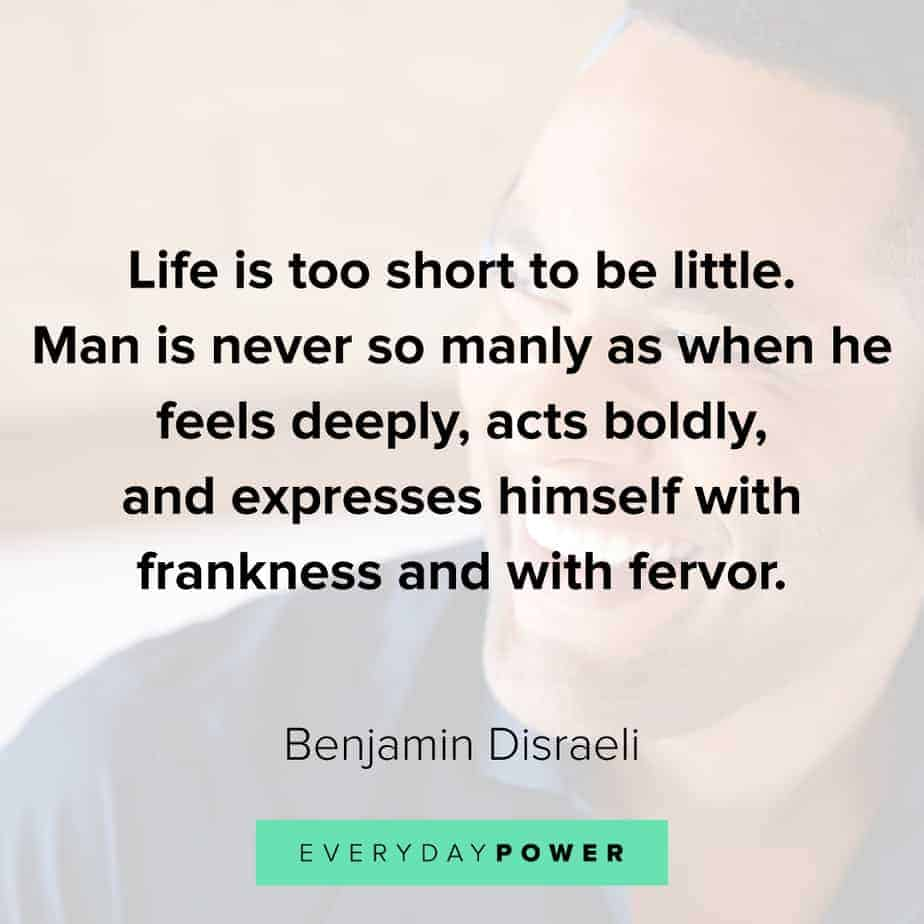 Good Man Quotes about expressing yourself