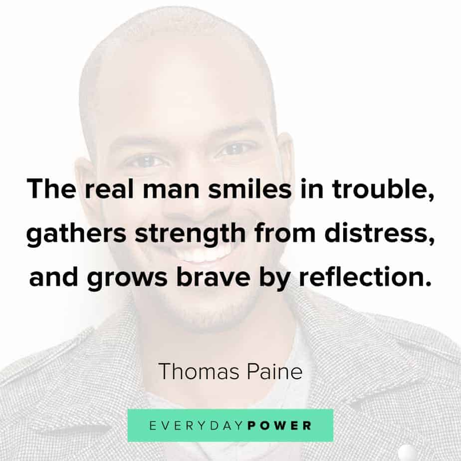 Good Man Quotes about strength