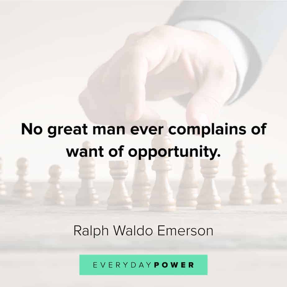 Good Man Quotes about opportunity