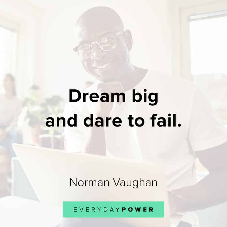Good Morning Quotes on dreaming big