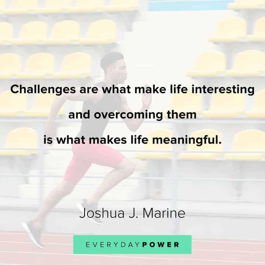 Good Morning Quotes on challenges