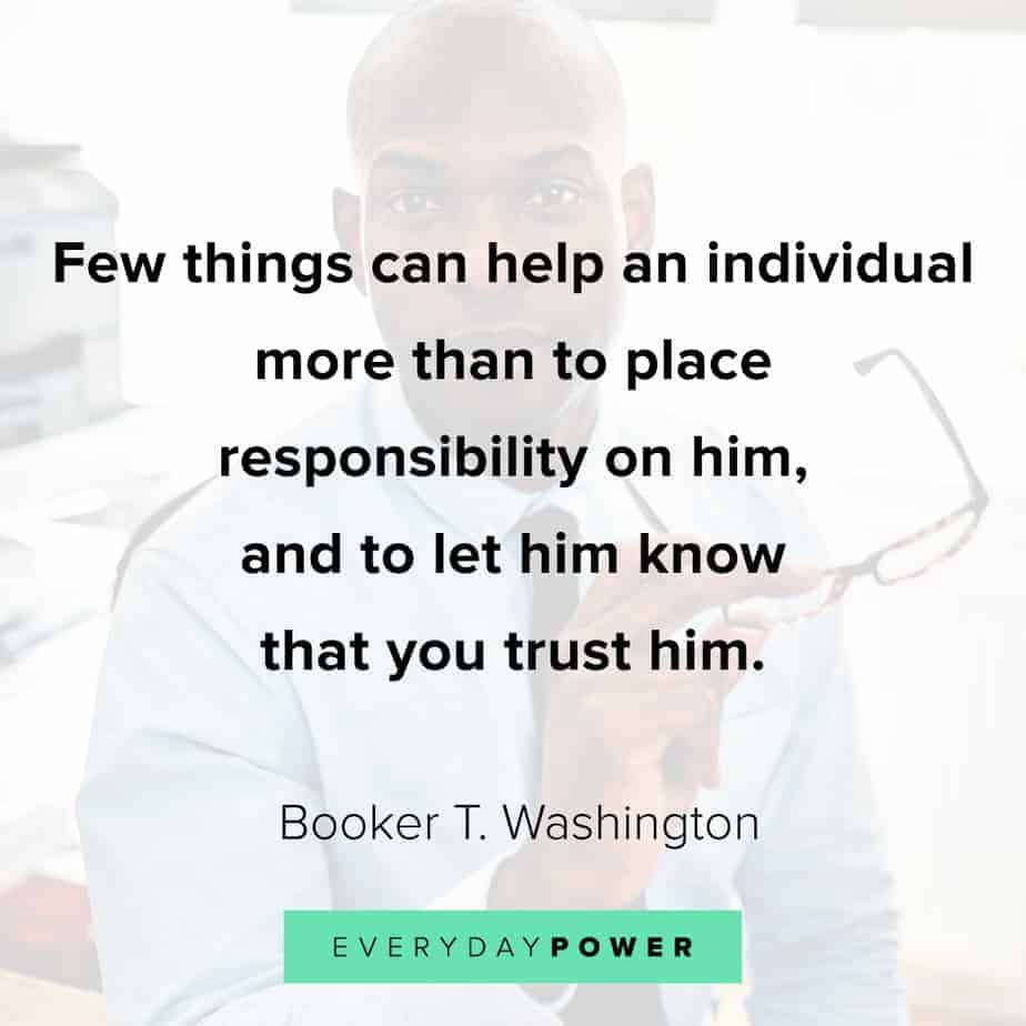 Good Morning Quotes on responsibility