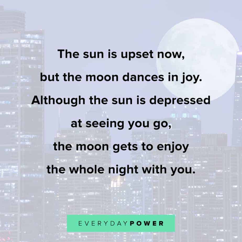 Good Night Quotes about enjoying the night