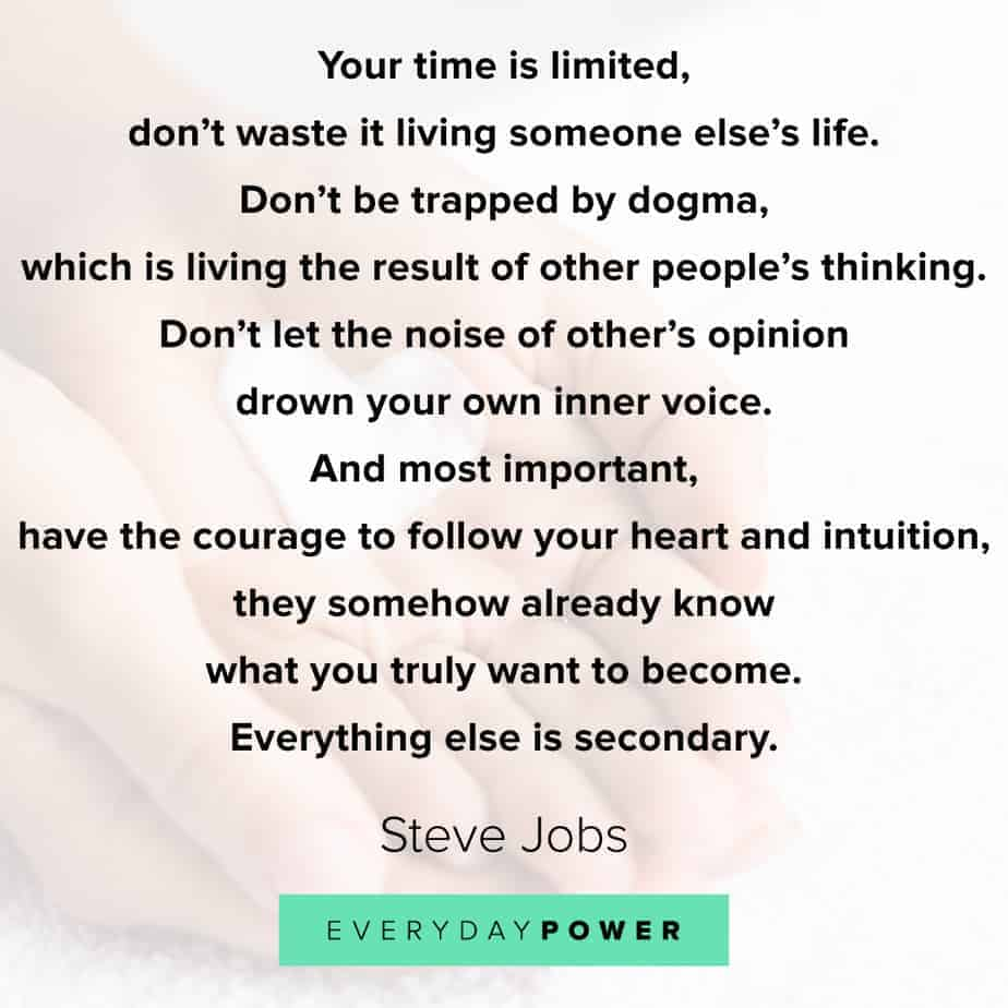Graduation Quotes on following your heart