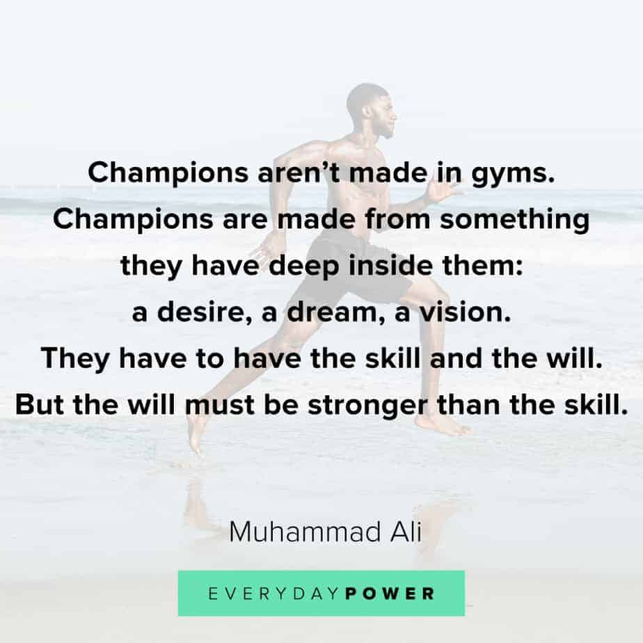 Graduation Quotes about champions