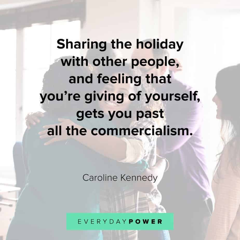 Happy Holidays Quotes about sharing