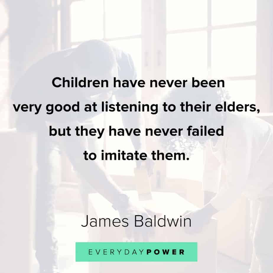 James Baldwin quotes on children