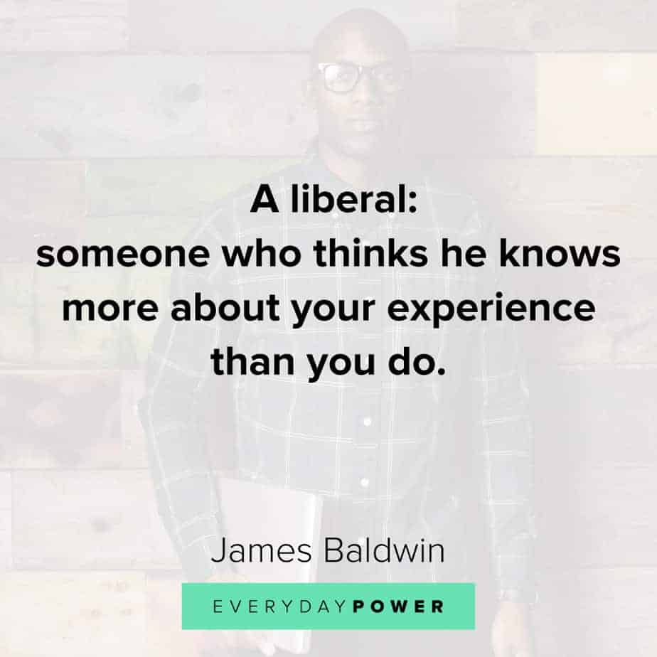 James Baldwin quotes on liberty