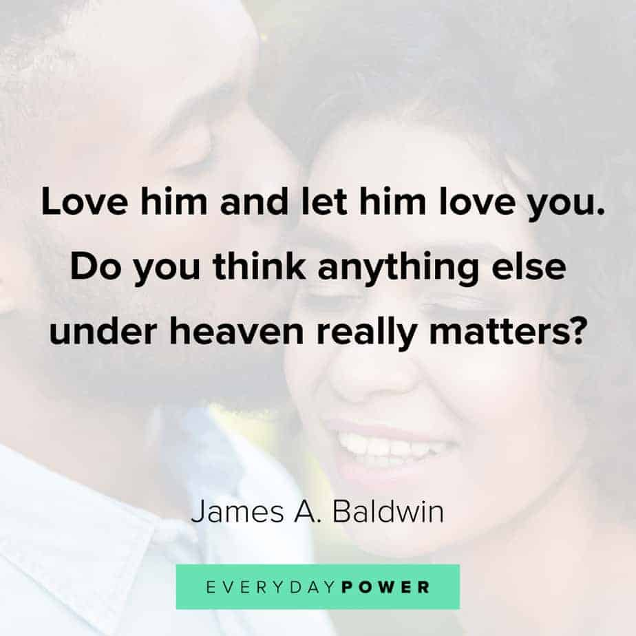 James Baldwin quotes on what matters