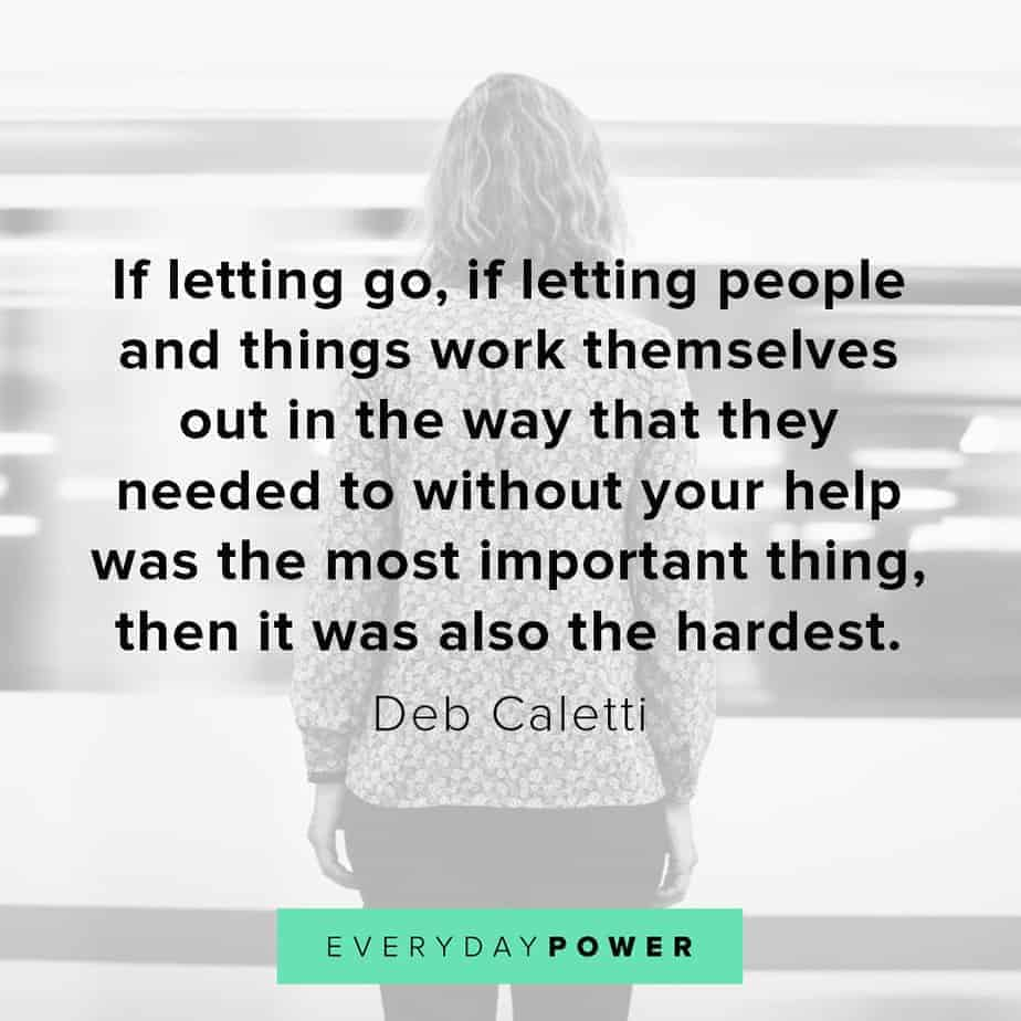 Letting go quotes about getting help