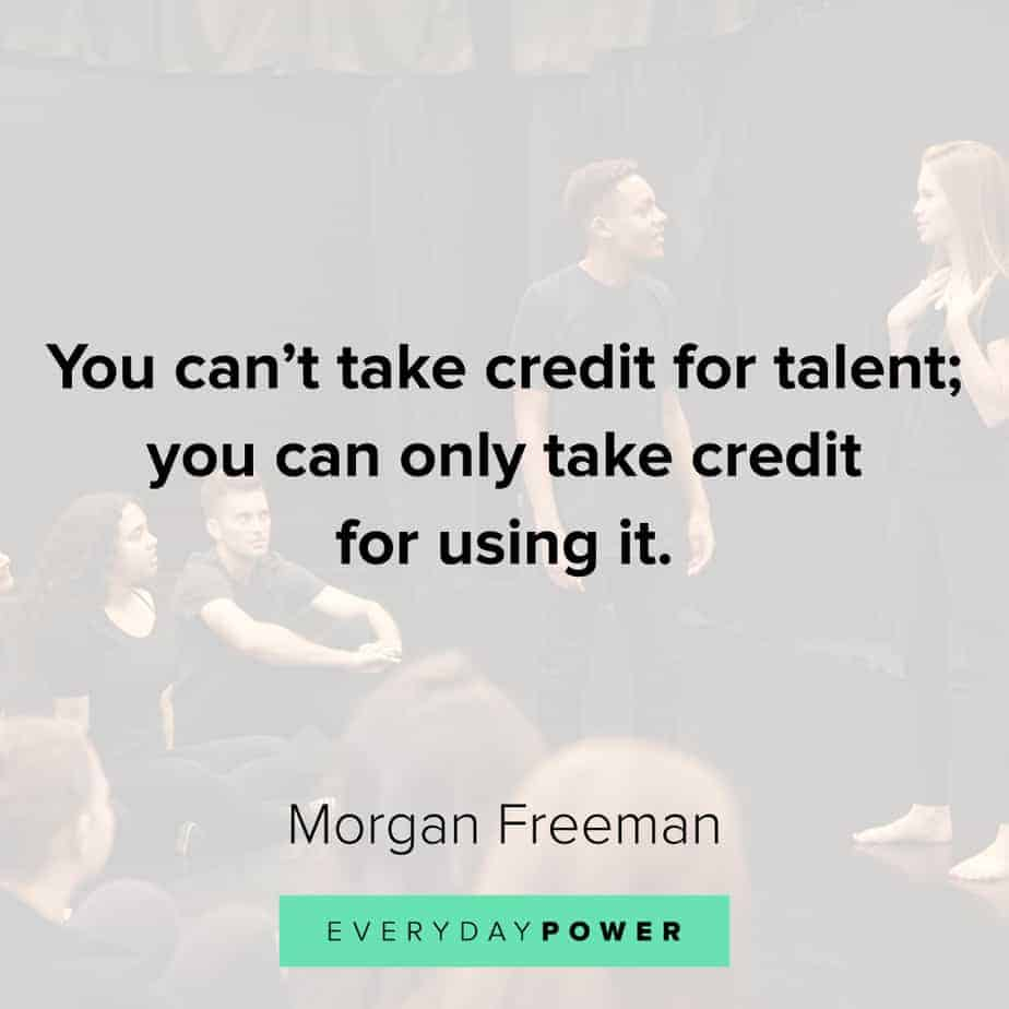 Morgan Freeman Quotes about pressure