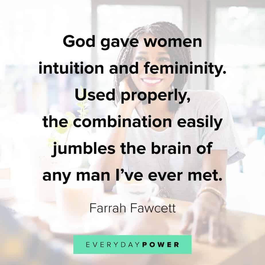 Queen Quotes on femininity